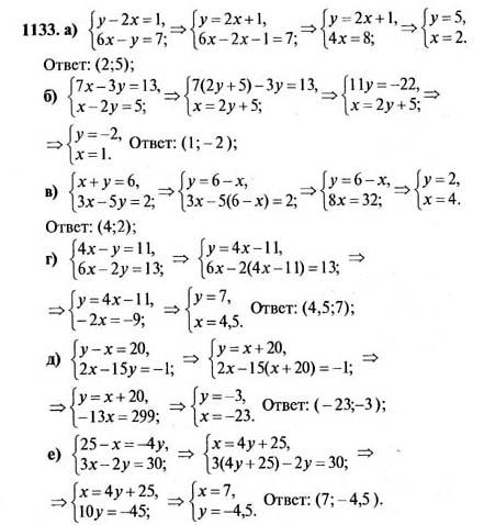 Гдз по математике 7 класс 2005 год